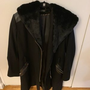 Via Spiga jacket with faux fur